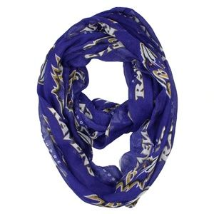 NFL Baltimore Ravens Infinity Scarf